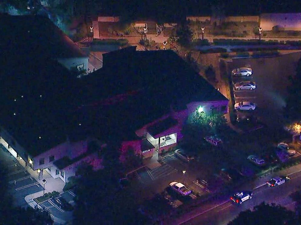 PHOTO: Multiple people were injured at the Borderline Bar and Grill in California on Wednesday, Nov. 7, 2018.